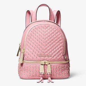 Michael Kors Mini Studded Rhea Backpack